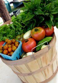 Csa basket july