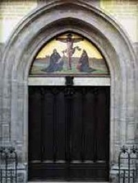 Castle Church Door