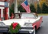 Car grill wreath
