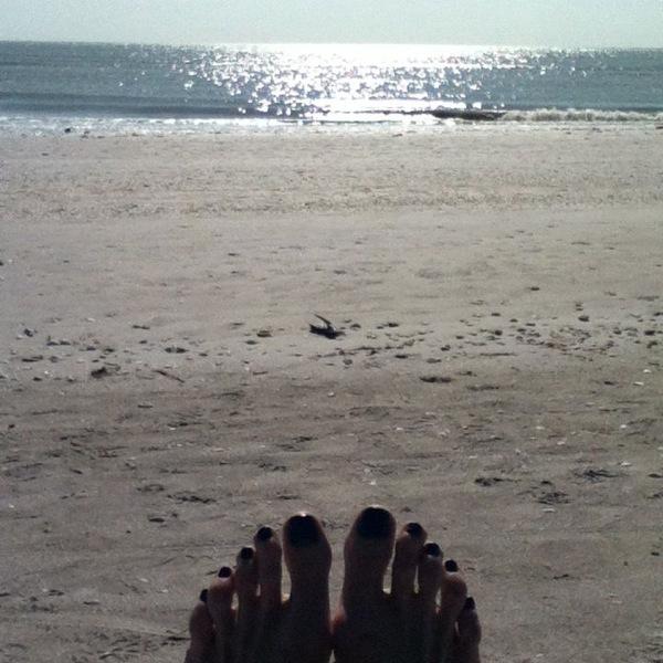 Sanibel toes