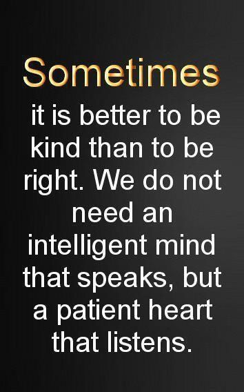 Kind vs right