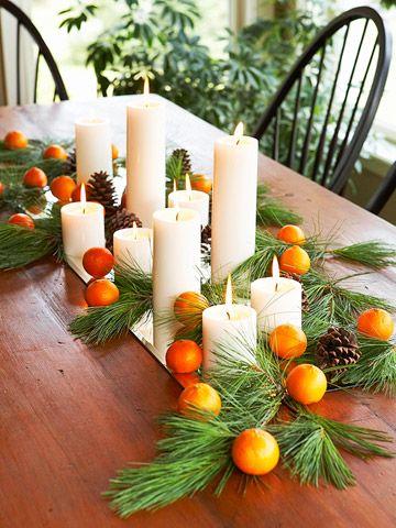 Candles  citrus