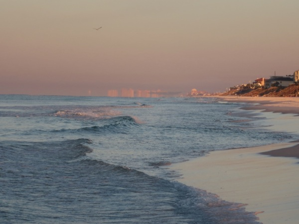 Destin at sunrise